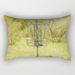 Disc Golf Basket 7 Rectangular Pillow