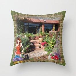 Clovelly - Western Cape Throw Pillow