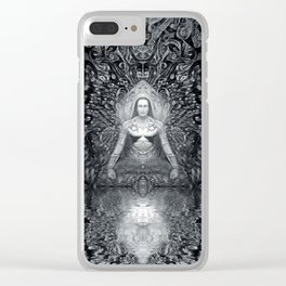 In communion With Mahaavatar Babaji (Vision 4) Clear iPhone Case