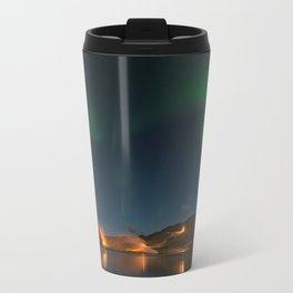 Northern Lights in Iceland Travel Mug
