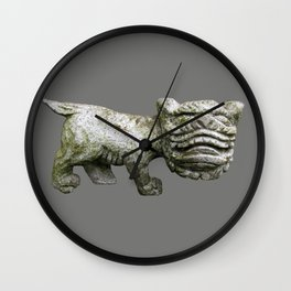 Little Stone Monster Wall Clock