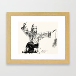 Jiang Hu Framed Art Print