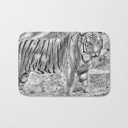 Malayan Tiger (Harimau) Bath Mat