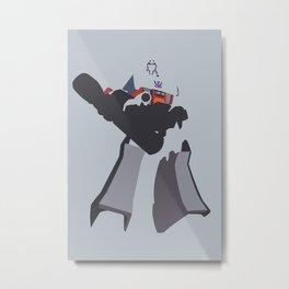 Transformers G1 - Megatron Metal Print