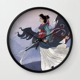 Mulan Wall Clock