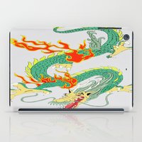 chinese iPad Cases featuring Chinese Dragon by J&C Creations