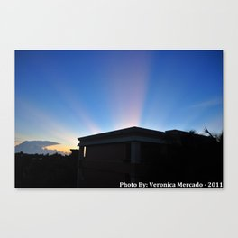 Ray of Lights Canvas Print