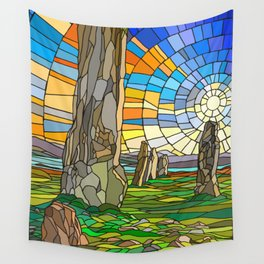 Calanais Sunset Wall Tapestry