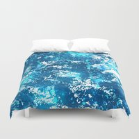 arctic monkeys Duvet Covers featuring Arctic by Ignesco (Brittany Otero)