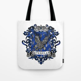 Ravenclaw Color Crest Tote Bag