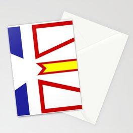 Newfoundland Flag Stationery Cards