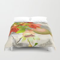 pomegranate Duvet Covers featuring Pomegranate. by Nato Gomes