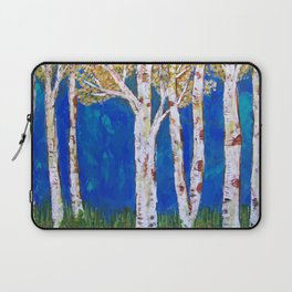 Golden Aspens Laptop Sleeve