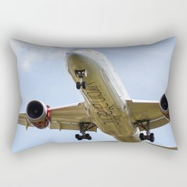 Virgin Atlantic Boeing 787 Rectangular Pillow