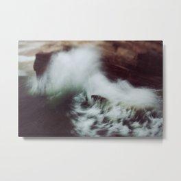 Guadalupe Wave Metal Print