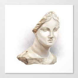 The Chios Head Canvas Print