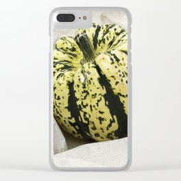 Squash Still Life Clear iPhone Case