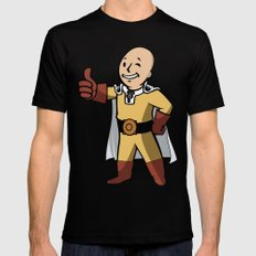 One punch boy - Parody X-LARGE Mens Fitted Tee Black