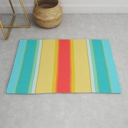 sandcastle deckchair stripe Rug
