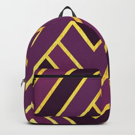 Art Deco Graphic No. 156 Backpack