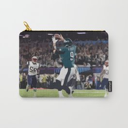 Super Bowl Champion Philadelphia Eagle Nick Foles Catch Carry-All Pouch