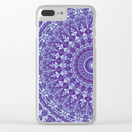 Ornate mandala Clear iPhone Case