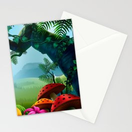 Secluded Jungle Stationery Cards