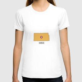 Kansas State Heart T-shirt