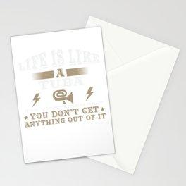 Life Is Like A Tuba Stationery Cards