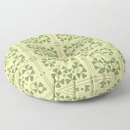Shamrocks & Trinity Knots Floor Pillow