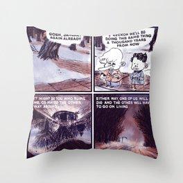 Laugh Menu 80 Throw Pillow