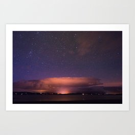 Clifden by Starlight. Art Print