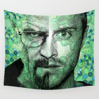 breaking bad Wall Tapestries featuring Breaking Bad by victorygarlic - Niki