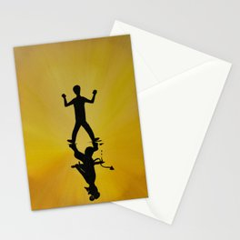 Overcome Your Evil Stationery Cards