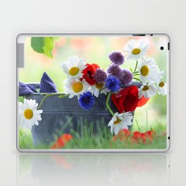 Flower potpourie from the cottage garden Laptop & iPad Skin
