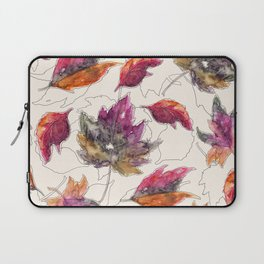 Maple Pattern Laptop Sleeve