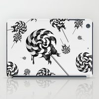 goth iPad Cases featuring Goth Lollies by All Is One