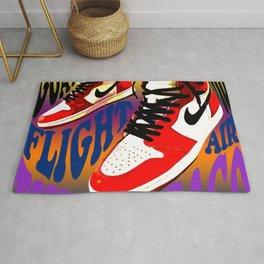 Psychedelic Sneakers Rug