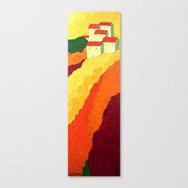 Tuscan Hill Impression Canvas Print