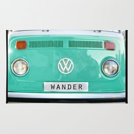 Wander van. Summer dreams. Green Rug