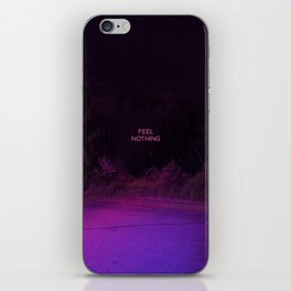 Feel Nothing iPhone Skin