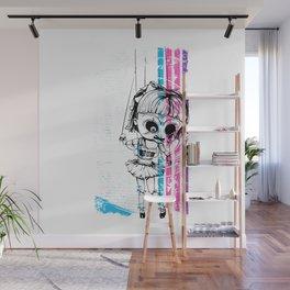 Deathly Chucky's Girl - Creepy Doll Wall Mural