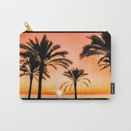Beach Dream Between Palms Carry-All Pouch