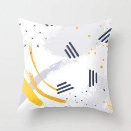 Melon splash Throw Pillow