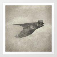 soul Art Prints featuring Old Soul  by Terry Fan