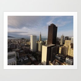 downtown sf Art Print