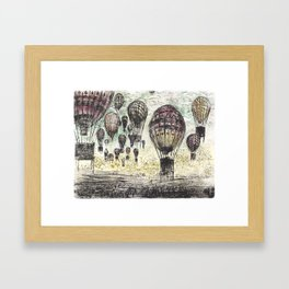 Set me free Framed Art Print