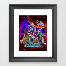 Vindicators Framed Art Print