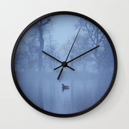 Lone Duck Wall Clock