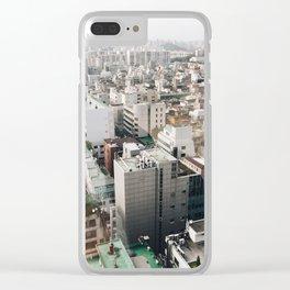 seoul-soul Clear iPhone Case